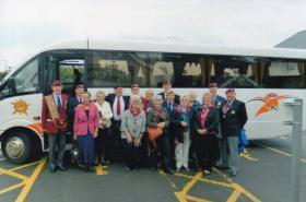 Truro, Cornwall PRA branch visit Airborne Assault 2012