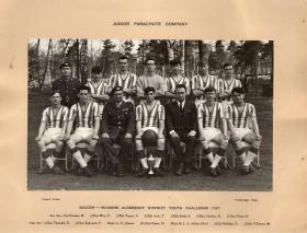 Winners of the Aldershot District youth Challenge Cup 1965