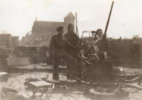 7 may 1945 Wismar Railway yard W platoon 63 Coy RASC