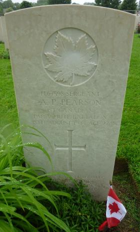 Axel P Pearson Headstone