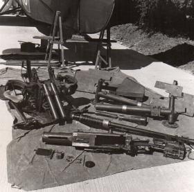 Stripped down Polsten 20mm cannon