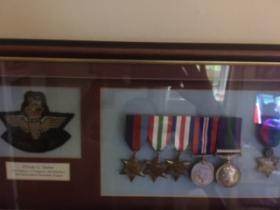 GH Tasker Medal set