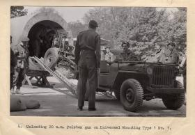 Unloading Polsten with Jeep
