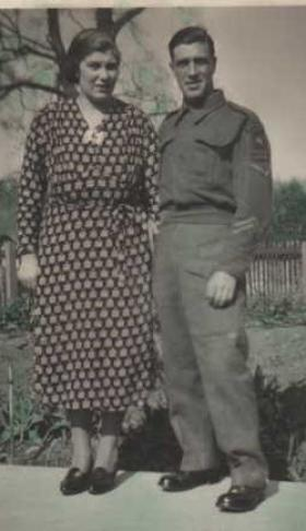 Pte and Mrs Phillip J N Russell
