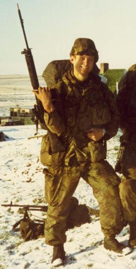 Mark T Cox  Falklands 1982