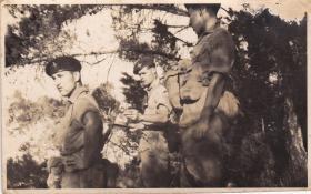 Members of 1 Para C Coy 1956