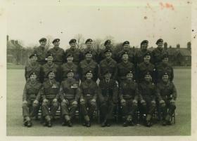 40 Pln Passing out Photograph Aldershot 1955