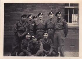 members of 40Pln Depot the Parachute Regiment