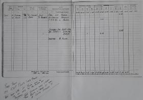 S.Sgt M Leaver's logbook entry for 18 September 1944