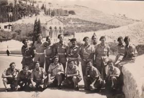 Members of the 63 Airborne Composite Coy RASC