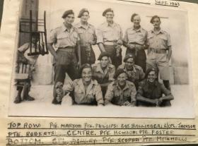 Men of The 2nd Para Battalion in Altamura Italy