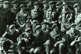 1 Para C Coy 7 Pln on return from Cyprus 1956
