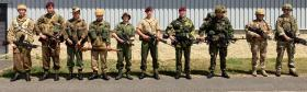 Members of 16 Air Assault Brigade, 22 June 2020