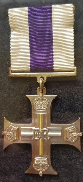 Alfred OJ Pope's Military Cross