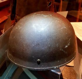 Airborne Helmet (HSAT) owned by Sgt JW Denning