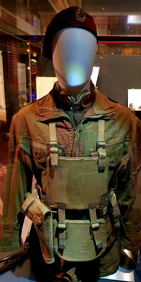 Smock and MRC Armour used by Sgt JW Denning