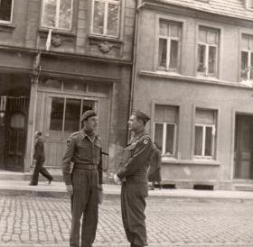 Bols And Ridgeway in Wiesmar March 1945