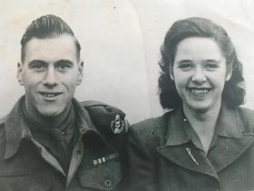 Eric Clitheroe and his wife