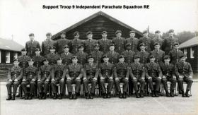 Support Troop 9 Ind Para Sqn RE