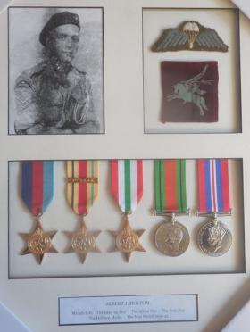 Medal set for Cpl AJ Holtom