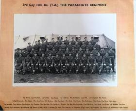 3 Coy, 10 Para TA, 1950s