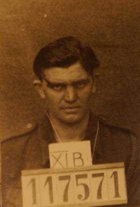 Sgt E Ballinger PoW Picture