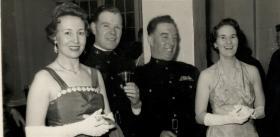BM Fred Morgan, RSM Tom Duffy and their wives