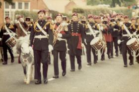 Band and Corps of Drums Victoria Day, Aldershot C1990s
