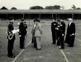 'Monty', BM F Morgan, Mayor and Town Clerk of Aldershot 1950s