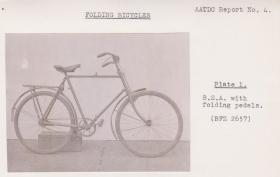Folding Bicycle BSA and Phillips c1942