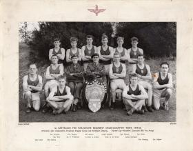 1 Para Cross Country team 1959-60