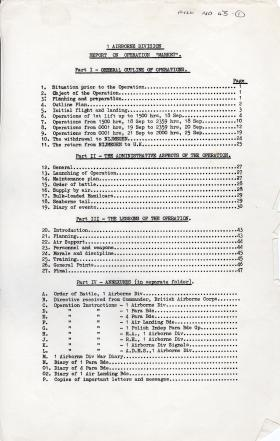 Op Market report 10 January 1945
