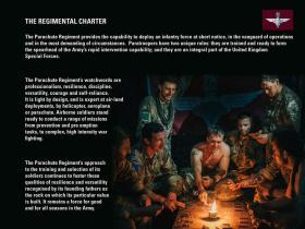 The Parachute Regiment Charter