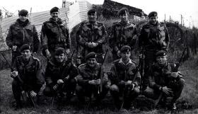 Members of the Heavy drop coy RAOC