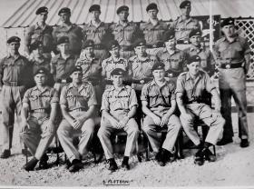 6 Platoon Jan-Feb taken in 1964 just before leaving for  to Aden then into Radfan.