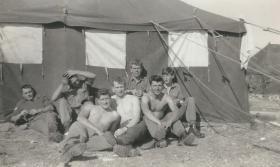 Members of 6 Pln B Coy 3 Para Muharaq Airfield Bahrain 1961