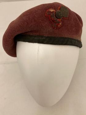Beret worn by John G Slater