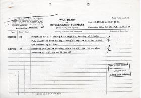 2 Airlanding A Tk Ra War diary Feb 1945 to May 1945