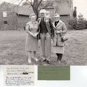 Maj Slater Varsity Pilgrimage March 1985