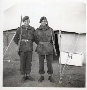 Members of A Coy 9th Bn, Qastina 1947