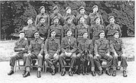 89 Para field Security, Fulbeck Hall, Lincolnshire July 1944
