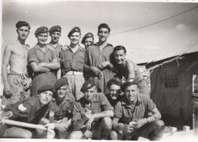Members of A Coy 9th Bn, Palestine 1947
