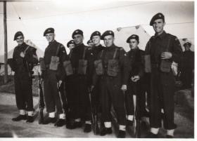 Guard Mounting A Coy 9th Bn 1947 Palestine
