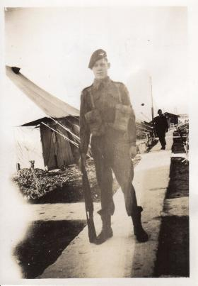 Harry Holter soon to be Sgt, 1947, Palestine