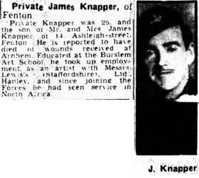 J Knapper newspaper article