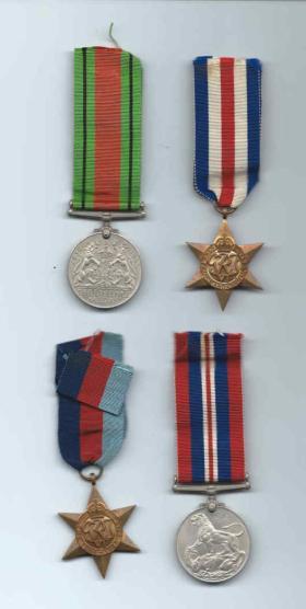 Tpr F Silvester Medal Set