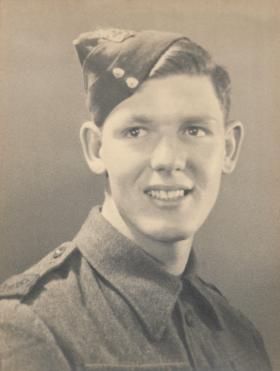 Reginald Foley in Royal Berkshire Regiment ITC uniform 1943