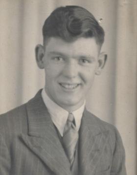 RL Foley in civilian dress 2 August 1942