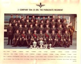 2 Coy 10 Para 1974