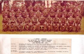 2 Coy 10th Battalion 1978